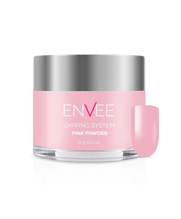 MANICURE TYTANOWY envee-pink-powder-14g